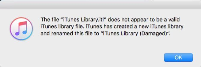 How to Fix a Damaged iTunes Library