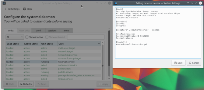 How to Control Linux Start-Up Services and Daemons kde kcm systemd 670x297