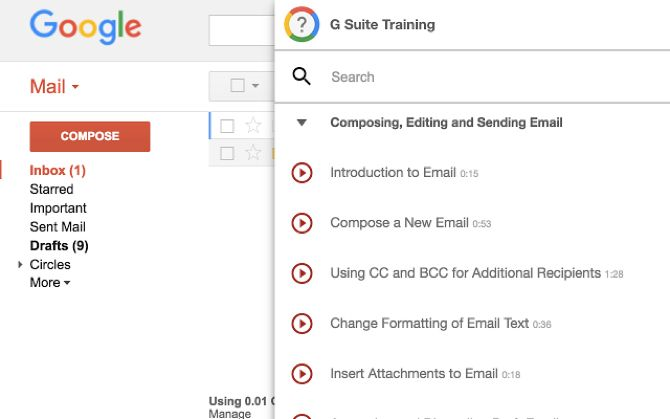Learn Gmail, Google Apps, and Android Basics With 5 Beginner Lessons learn google gsuite training chrome
