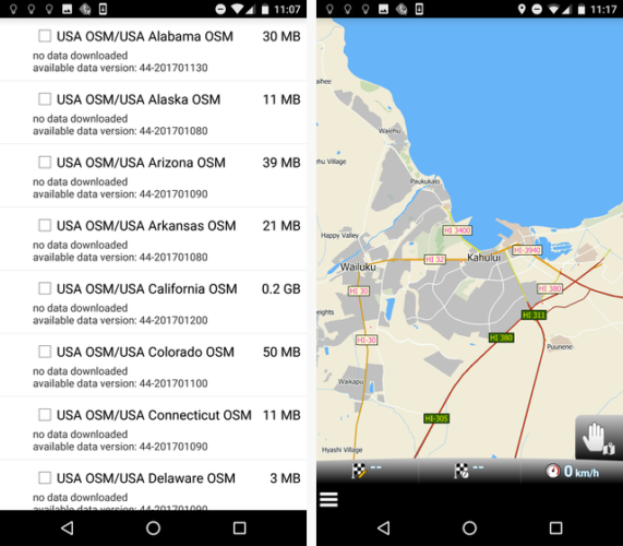 The 4 Best Free Offline GPS Apps for Android to Navigate Anywhere mapfactor 571x500