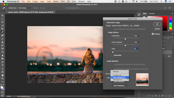 How To Change The Background Of A Photo In Photoshop