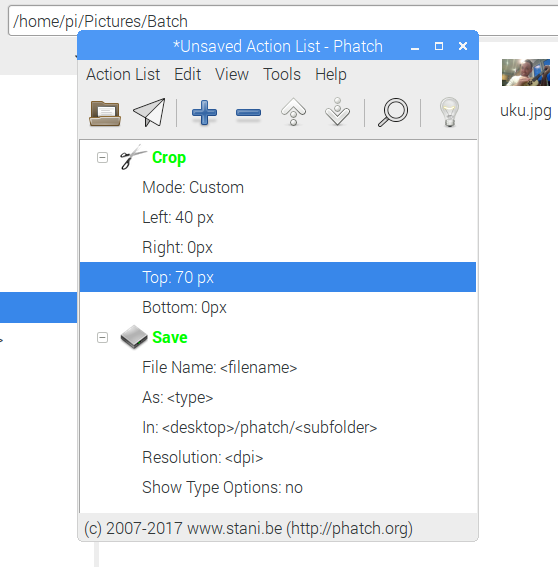 How to Easily Crop and Resize Images in Linux muo creative linux croptools phatch