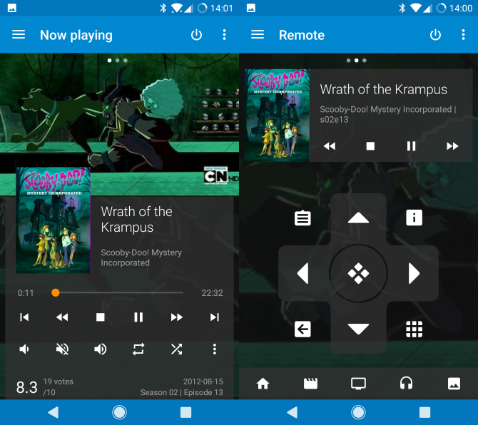 Use Kodi remote apps to control your media center