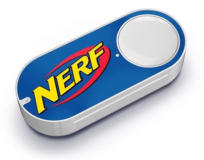 14 Ridiculous Smart Home Products You Don't Need nerf dash button