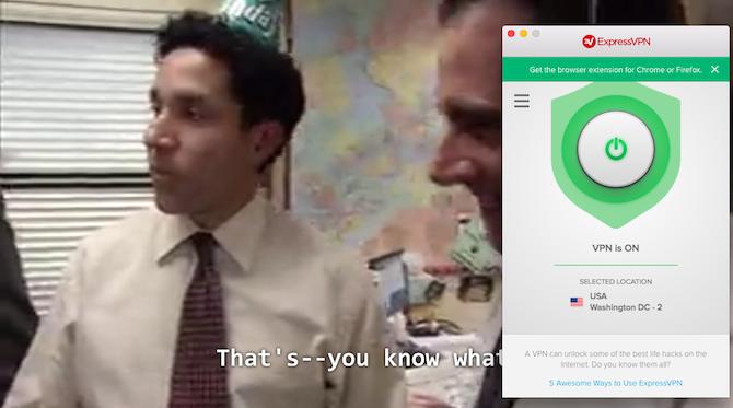 Express VPN is the best VPN for Netflix America