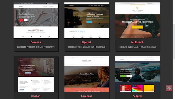 11 CSS Template Sites: Don't Start From Scratch! os templates