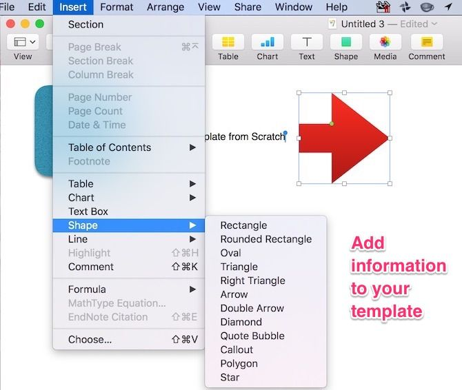How to Create Impressive Pages Documents and Templates on Mac pages templates from stratch