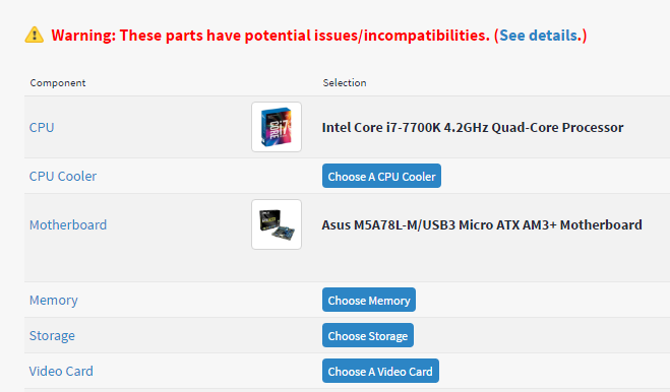 How to Buy a Cheap Gaming PC With an Nvidia Graphics Card pcpartpicker incompatibility