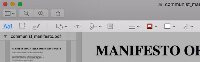 How to Create, Merge, Split & Markup PDF Documents on a Mac preview tools