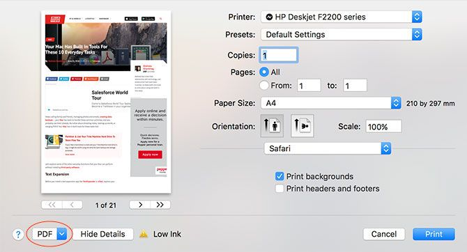 split and merge pdf mac