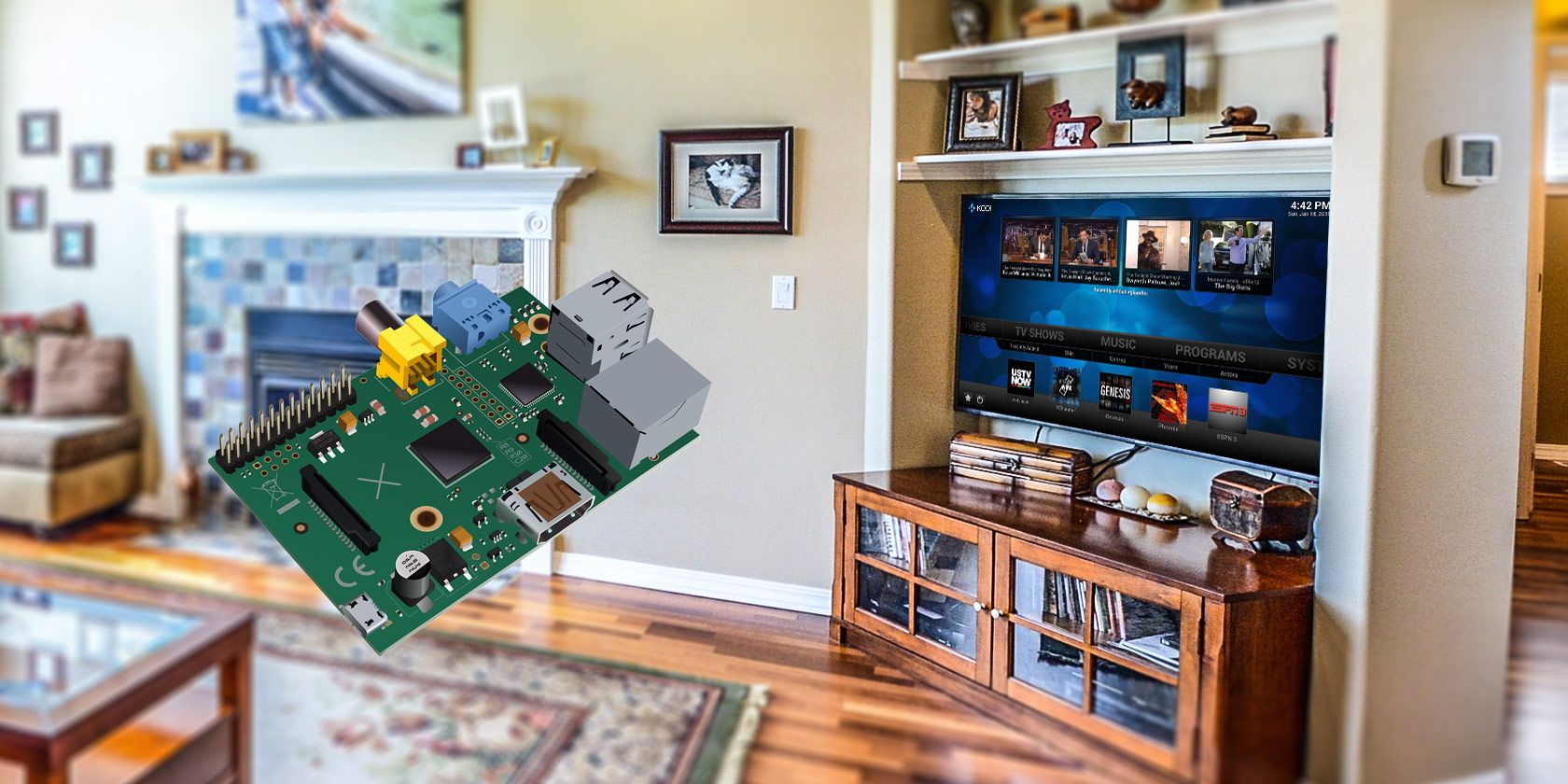 Kodi Smart Technology Yaflc Yet Another Flickering Led Candle Using Tiny45 Microcontroller Install To Turn Your Raspberry Pi Into A Home Media Center