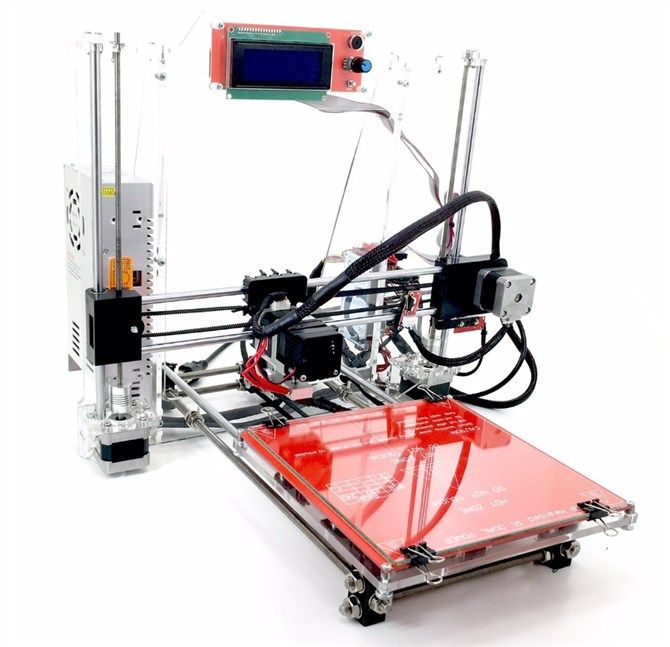 The Best 3D Printer for Your Budget in 2017 reprap prusa i3 3d printer amazon