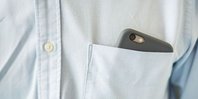 Secretly Take Pictures on Your Android or iPhone Without Being Seen secret phone camera in shirt pocket