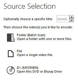 How to Copy DVDs that You Own source selection