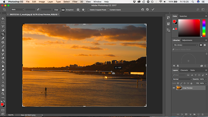 10 Must-Know Introductory Photoshop Skills for Beginner Photographers straighten