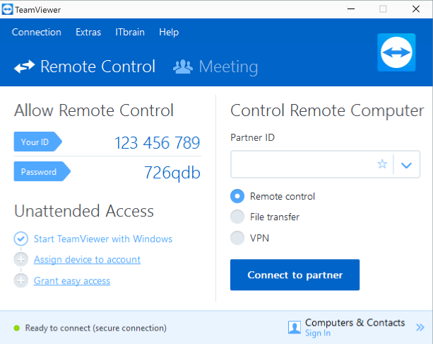7 Easy Screen-Sharing and Remote-Access Tools teamviewer