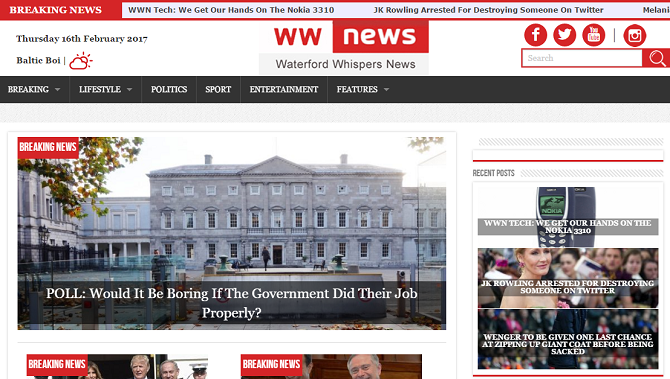 Faux News: 10 Best Websites for Fake News & Satire waterford whisper news 670x379