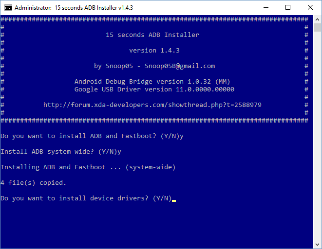 How to Install Windows Drivers for Your Android Phone 15 Second ADB Installer