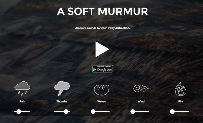 This Site Customizes Sounds to Help You Concentrate or Fall Asleep ASoftMurmur 670x407
