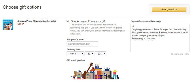 How to Gift Amazon Prime to Friends & Family (And Why You Should) AmazonPrimeGift 670x287