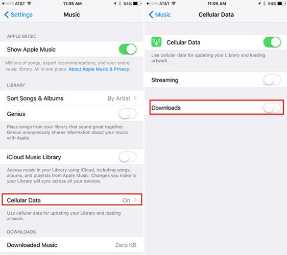 How to Reduce Mobile Data Usage When Streaming Music AppleMusic 562x500