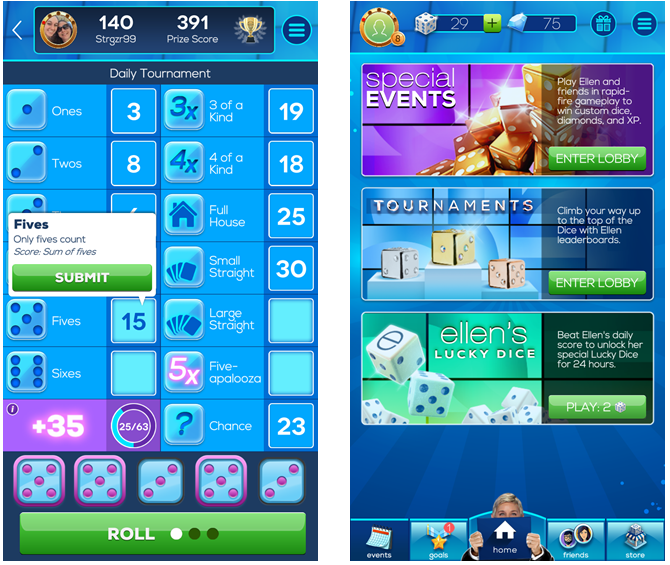 17 Fast, Fun, and Free Mobile Games for a Quick Fix DiceWithEllen iPhone