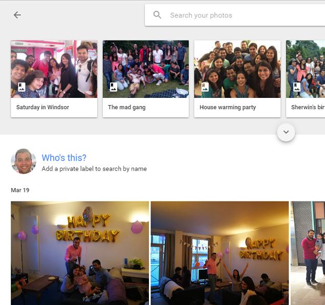 how to make hidden folder in google photos