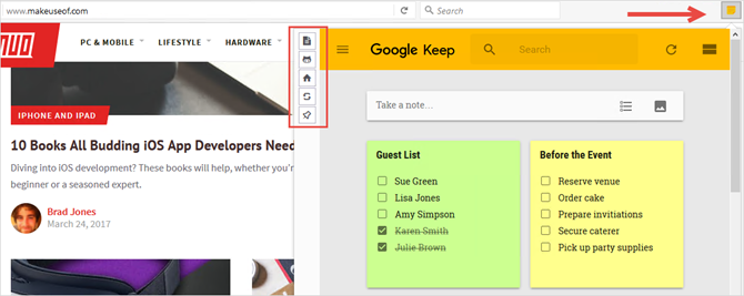 google keep firefox