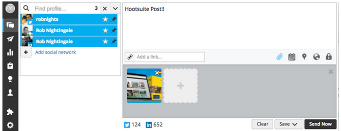 Hootsuite Post