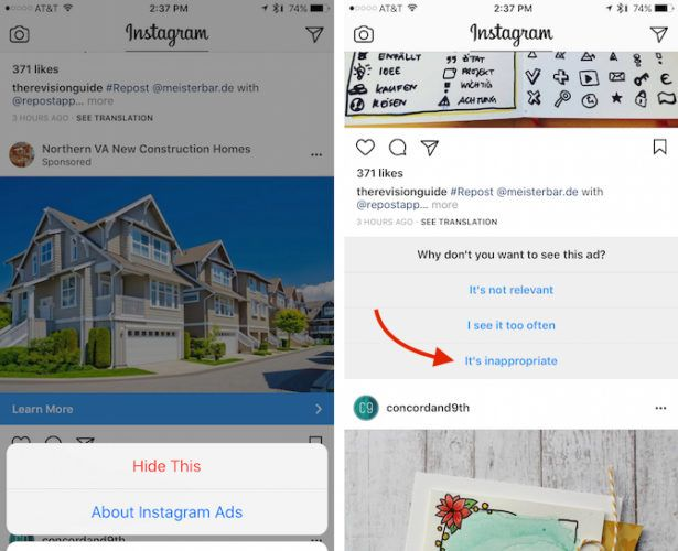 Want Fewer Ads in Your Instagram Feed? Here's a Trick That Works InstagramAds 615x500