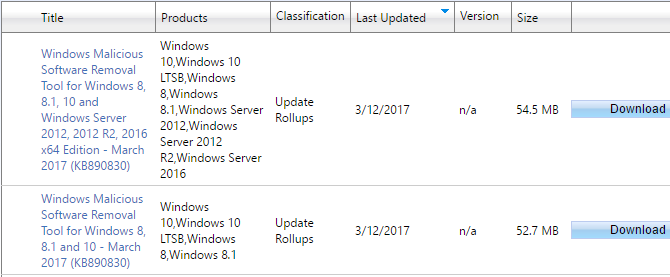 Windows Update Won't Work on Windows 7 and 8.1 Running on New Hardware Microsoft Update Catalog Search 670x277