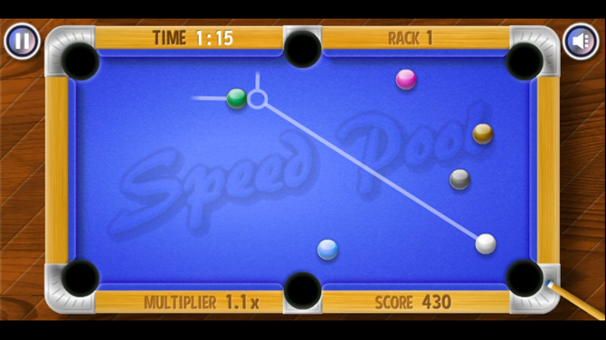 Speed Pool King Mobile Browser
