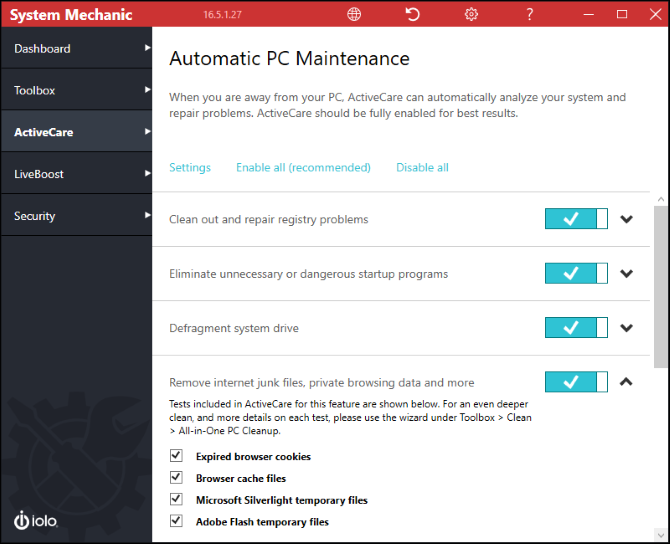 Push Your PC to Peak Performance With System Mechanic System Mechanic ActiveCare
