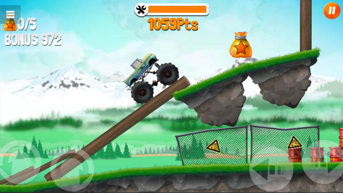 Truck Trials Mobile Browser