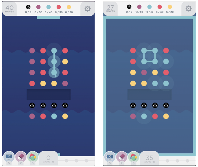 17 Fast, Fun, and Free Mobile Games for a Quick Fix TwoDots iPhone