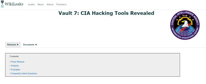 CIA Hacking & Vault 7: Your Guide to the Latest WikiLeaks Release Vault7