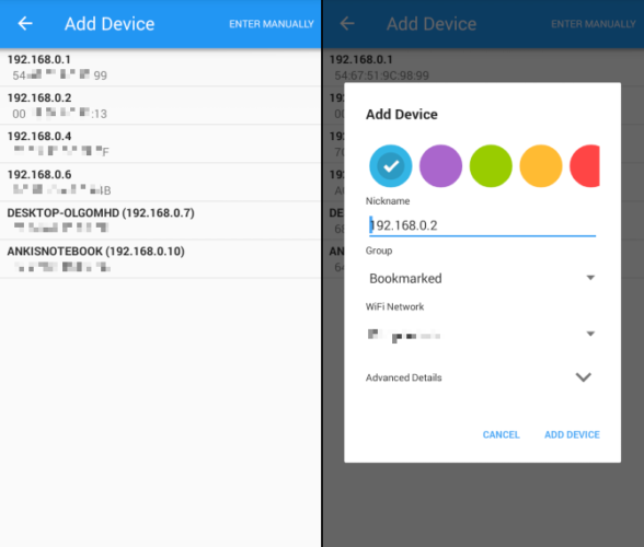 How to Turn on Your PC with Your Android Phone Using Wake-On-LAN Wake on Lan 02 588x500