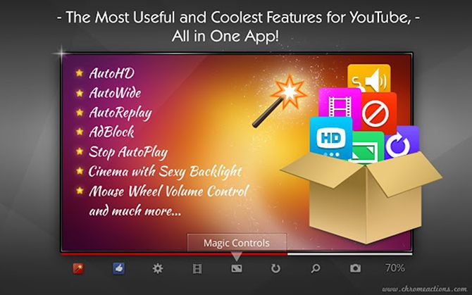 Optimize Your Chrome Browsing Experience With These 13 Extensions chrome extension magic youtube