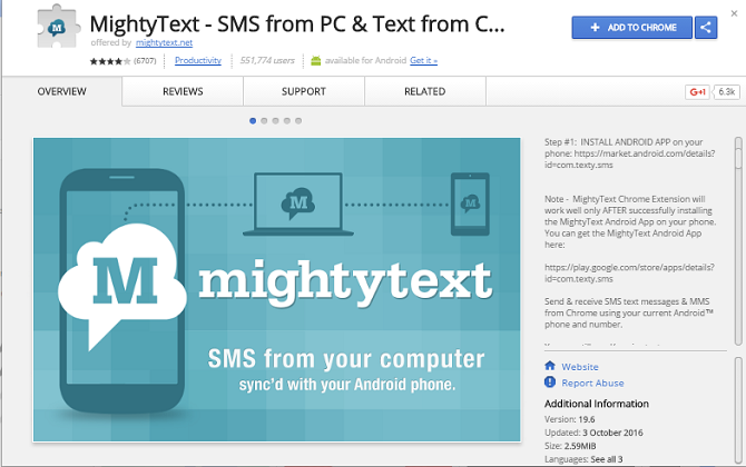 10 Essential Apps to Supercharge Your New Chromebook chromebook mightytext 670x420