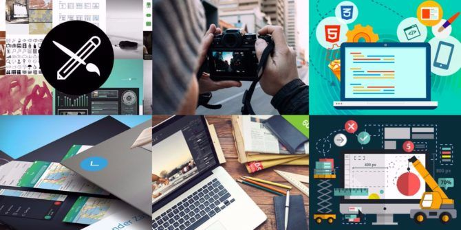 Become A Skilled Designer With These 6 Course Bundles