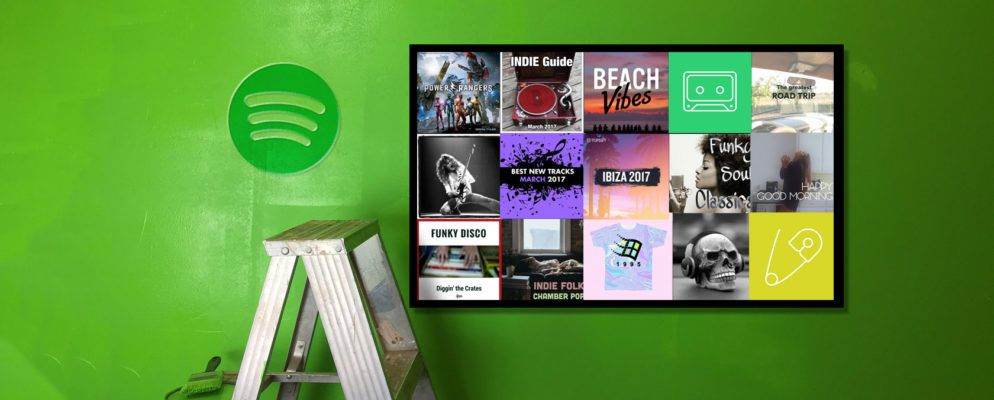 how to create a playlist on spotify on iphone