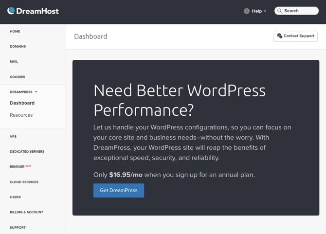 What Should You Be Looking for in a Web Host? dreamhost dreampress