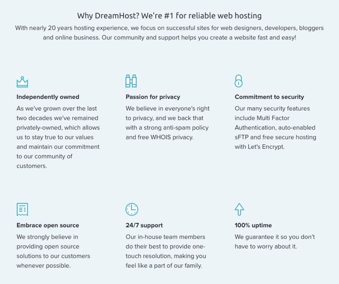What Should You Be Looking for in a Web Host? dreamhost reliability