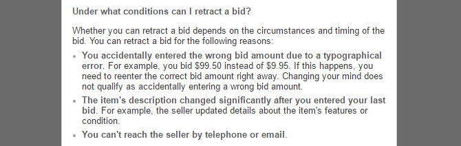 "Can You Really Win Almost Any eBay Auction By ""Sniping""? ebay retract bid"
