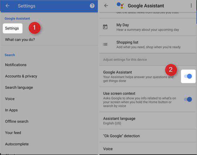 7 Free Google Services That Cost You Battery Life and Privacy google assistant disable