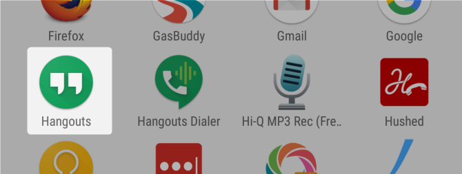 7 Free Google Services That Cost You Battery Life and Privacy google hangouts launcher