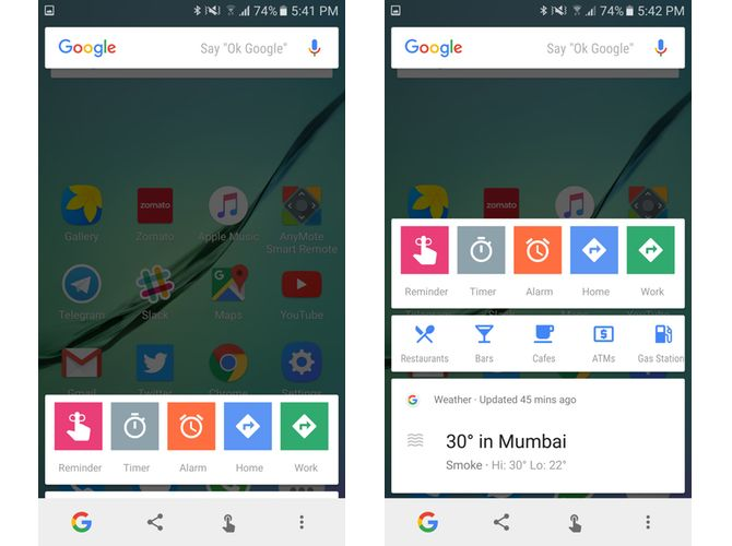 4 Google Now on Tap Features You Didn't Know About google now on tap quick shortcuts 1