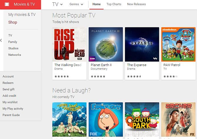 The Best Sites to Watch TV on Your Computer Over the Internet google play