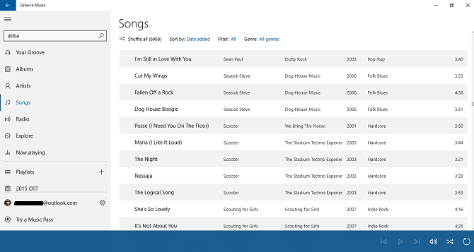 How Groove Music Rivals MusicBee as the Best Desktop Music