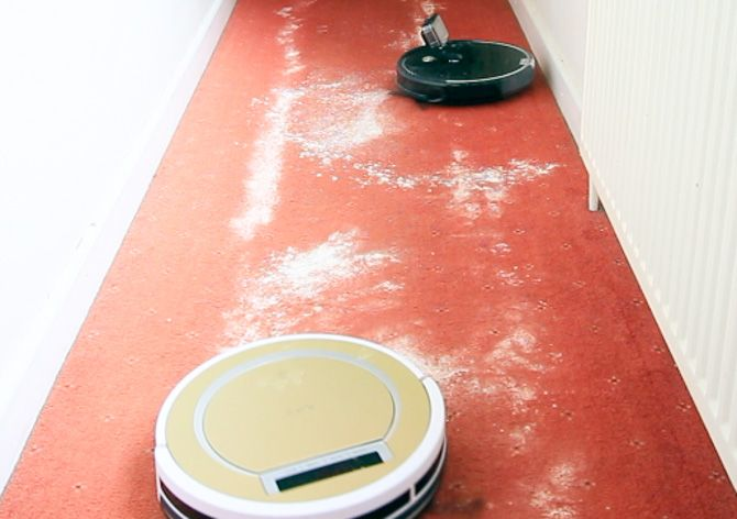 ILIFE A6 Robot Vacuum Review ilife a6 carpet cleaning